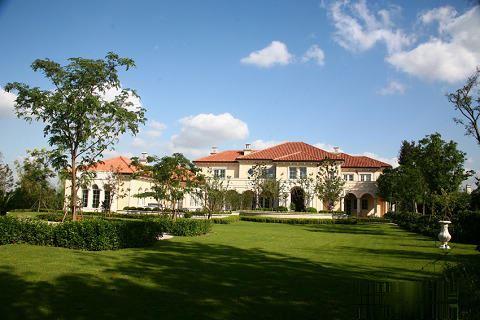 专业出售绿城别墅法式合院 使用620平 大花园130平好品质