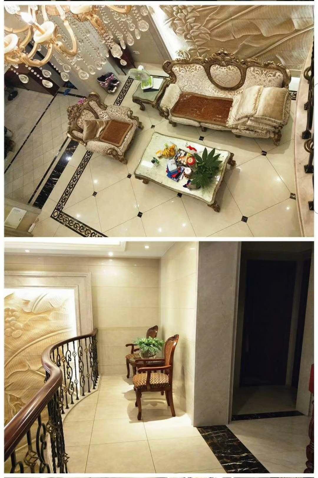确权280平米空中别墅,300万豪华装修,200平米花园露台