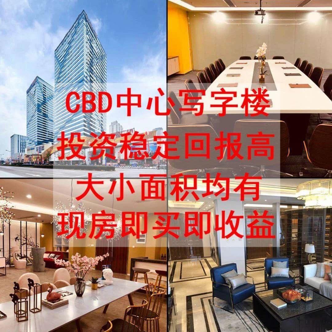 万达商业写字楼 全明江景 SHOU核心办公用地 买到就是赚到