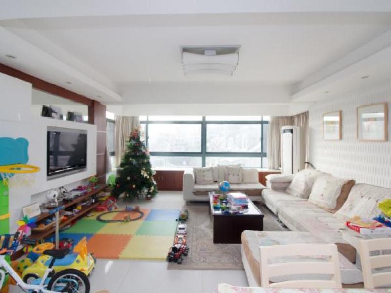 阳光都市公寓 稠江一小边上 152平方 大气三房南北通透户型