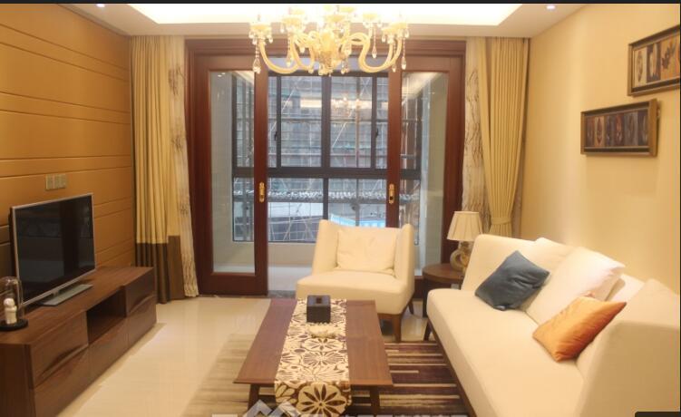 紫荆公寓 精装满2 双卧室朝别墅拎包入住
