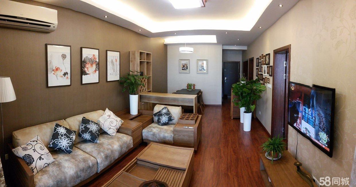 紫荆公寓 精装边套高层 明厨明卫