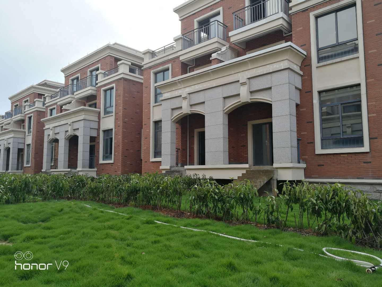 金义新区孝顺明德居纯别墅,中式园林简欧建筑,有山有水带花园
