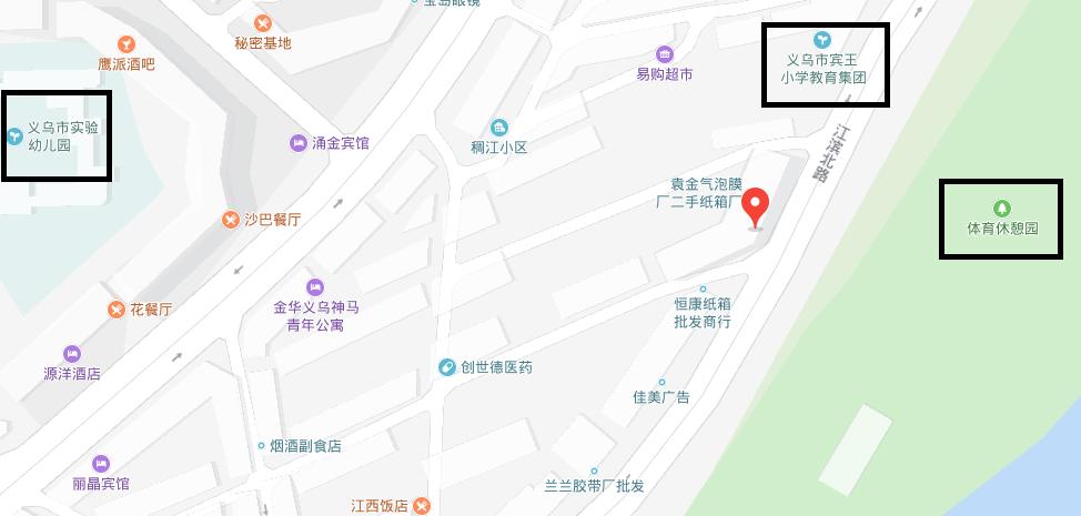 江滨北路183号(义驾山小学旁)