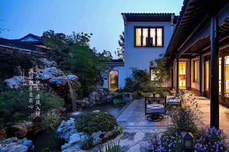 高端别墅群、总价180万起、独门独户的中式庭院避暑山庄