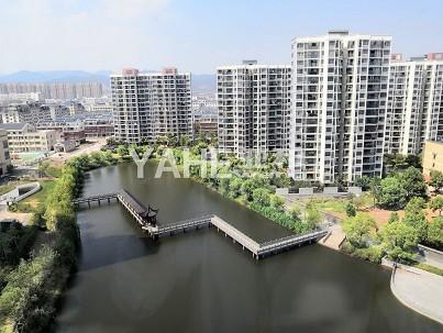 【稀缺带湖小区】龙山雅苑 86平100万 绿城物业 环境很好