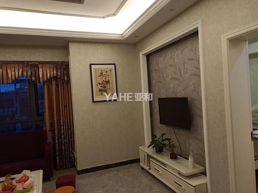 【投资+自住】万达公寓 高楼层69平精装修 边套两室 高年租