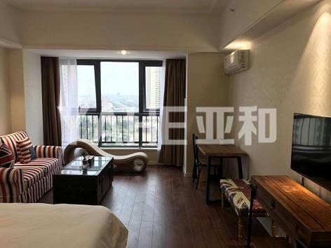 万达公寓  精致装修1室  直接拎包入住    年租2.6万