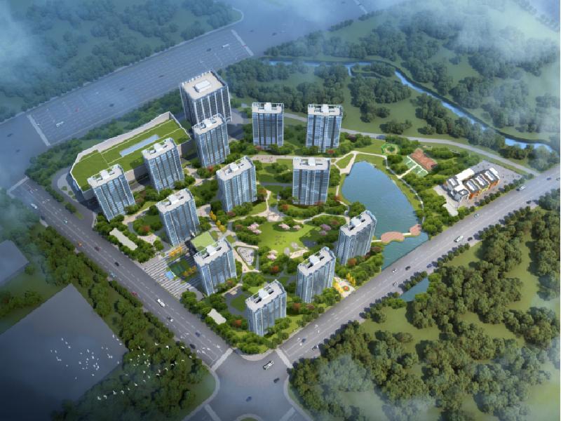 金东区一手新房、万固・东方樾88平三室通透户型首付仅需30万
