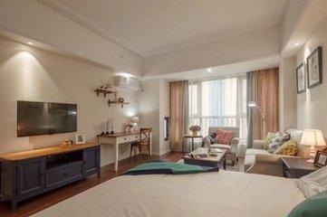 万达公寓  一室一厅  普通装修   万达广场旁
