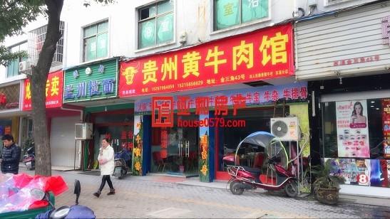 苏溪垂直房 占地127平 位置最佳沿街店面 租金年租24万
