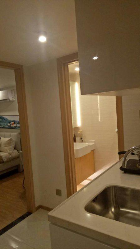 富港花园拎包入住两室一厅送阳台江湾小学绣湖中学电梯带物业