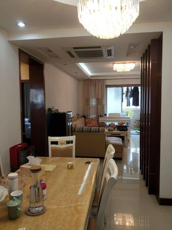 锦都豪苑131平+8平车库 黄金2楼 带中央空调