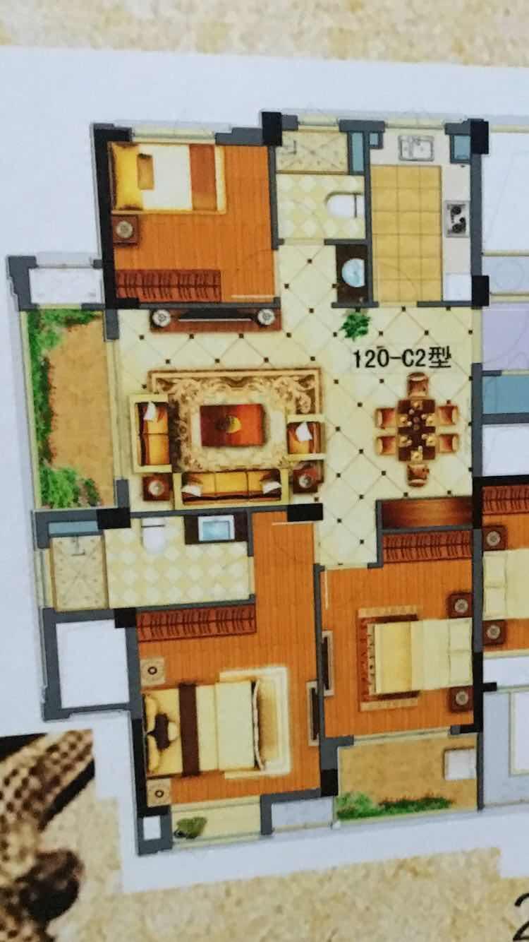 卿云府义乌之心中央公馆骆宾王公园旁一手新房带露台 稠城一小